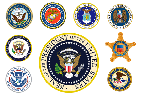 Logos to the United States of America