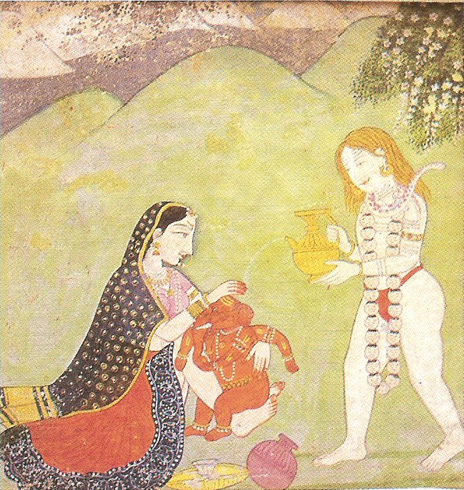 Shiva,Parvati&Babyjojo