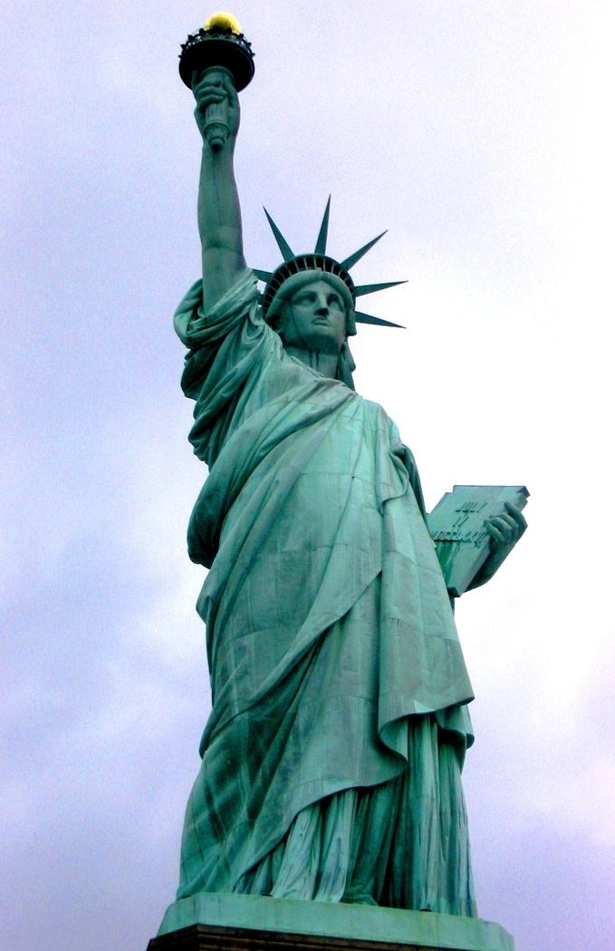 this is a JoJo Statue of Liberty