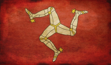 lord douglas isles of man flag