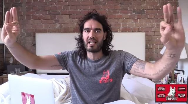 this is a jojo, russell brand