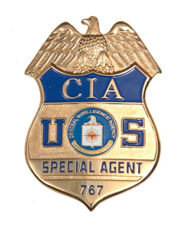cia special agent douglas lee thompson badge #767